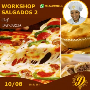 Workshop de Salgados (Nível 2)