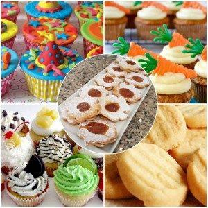 Workshop de Cupcakes e Biscoitos para Crianças dos 7 aos 14 anos